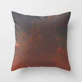 Pink Evening (Cloud series #6) Throw Pillow
