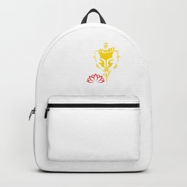 You Only Lose What You Cling To | Gautama Buddha Backpack