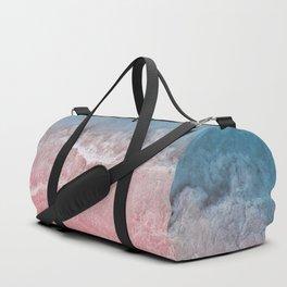Bahamas pink blue Duffle Bag