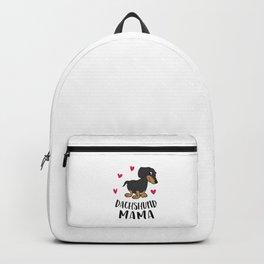 Cute Dachshund Mom Gift For Dachshund Mama Backpack