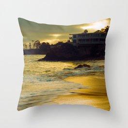 Laguna Sunset California Throw Pillow