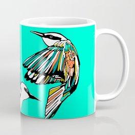 Dancing Rainbow Bee Eater Birds Coffee Mug