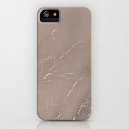 Lumen Print - Aged Paper iPhone Case
