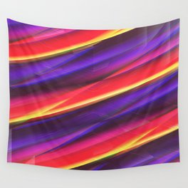 Pattern colorgradient purple Wall Tapestry