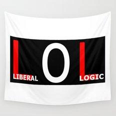 LOL - Liberal Logic Wall Tapestry