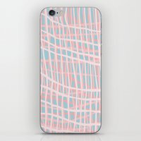 Net Blush Blue iPhone Skin