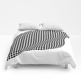Silk . Geometric Collection Comforters
