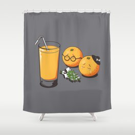 Oranges Are Grieving Shower Curtain