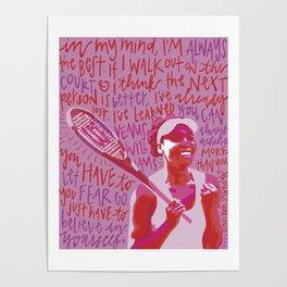 Venus Williams. Poster