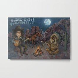 Jack White - Blunderbuss Metal Print