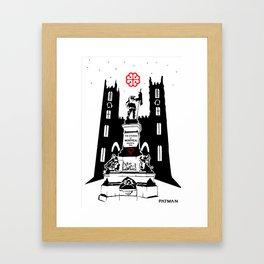 Citizens of Montreal Framed Art Print