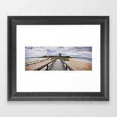 Penquin Island Boardwalk Framed Art Print