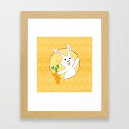 Carrot Time! Framed Art Print