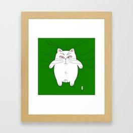 big cat 5 Framed Art Print