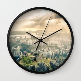 Hey look! It's our city! Wall Clock