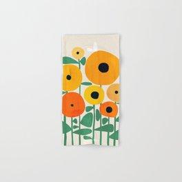 Sunflower and Bee Hand & Bath Towel