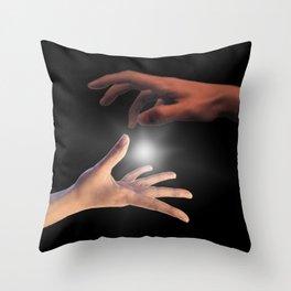 Theonite Cover Art [textless, borderless] Throw Pillow