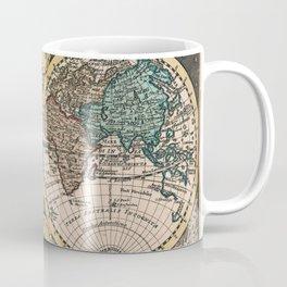 Vintage Map of The World (1740) Coffee Mug