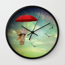 Danbo on tour Wall Clock