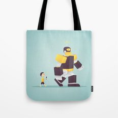the robot my dad never gave me Tote Bag