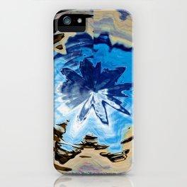 Glacier Wave Abstract iPhone Case