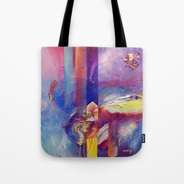 Eye of the Storm by Nadia J Art Tote Bag
