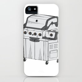 Grilling I Turn Grills On iPhone Case