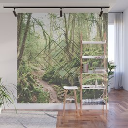 Puzzlewood Moss Forest Wall Mural
