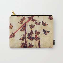 BUTTERFLY MIGRATION (antique) Carry-All Pouch