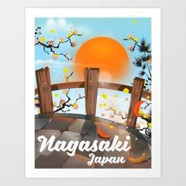 Nagasaki Japan Art Print