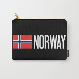 Norway: Norwegian Flag & Norway Carry-All Pouch