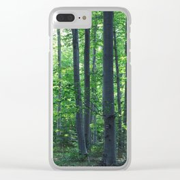morton combs 02 Clear iPhone Case
