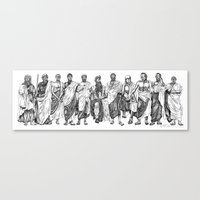 philosophy Canvas Prints featuring Philosophy by Pasty Creative