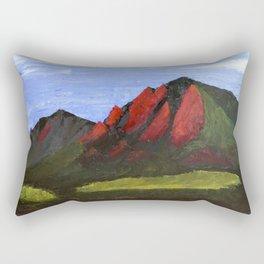 Flatirons Rectangular Pillow