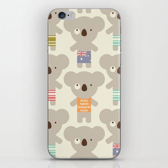 Koala-lala iPhone & iPod Skin