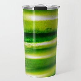 green metall Travel Mug