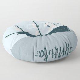 Mary Rose Cartoon Floor Pillow