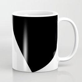 Minimalist Black and White 82 Coffee Mug