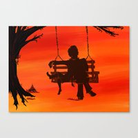 to kill a mockingbird Canvas Prints featuring To Kill a Mockingbird by thenonsensicalcephalopod