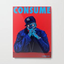 CONSUME - JAY Z Metal Print
