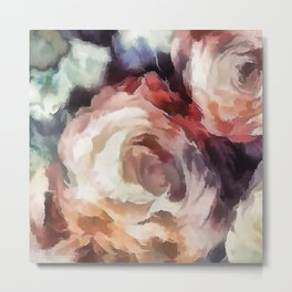 Roses of autumn. Metal Print