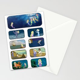 Little Sea Lady I Stationery Cards