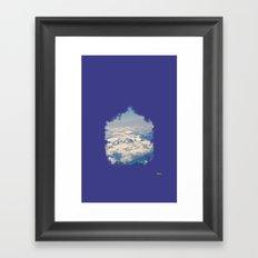 zirve Framed Art Print