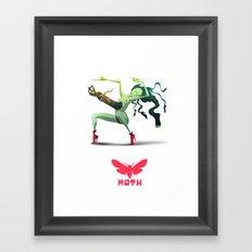 Moth Nv Framed Art Print