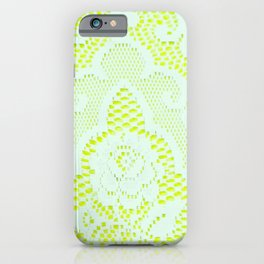 Neon Princess iPhone Case