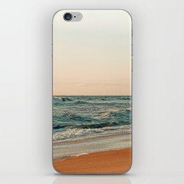 Ocean Orange iPhone Skin