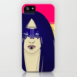 Tribal Lady iPhone Case
