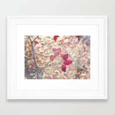 December morning Framed Art Print