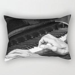 Play the Piano Rectangular Pillow