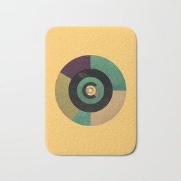 Circle Fibonacci.2 Bath Mat